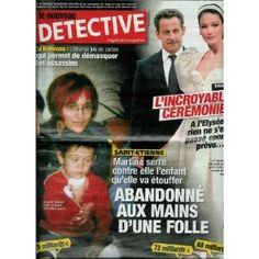 Le Nouveau Détective - n°1325 - 06/02/2008 - Saint-Etienne : Abandonné aux mains d'une folle [magazine mis en vente par Presse-Mémoire]