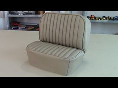 UPHOLSTERY BASICS - Patterning a Forward Lateral Panel for car seats. - YouTube