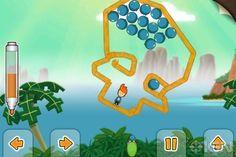 Tegn og hop-spil til iPad-  'Max & The Magic Marker'