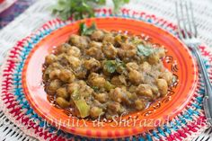 Curry de pois chiches , recette indienne