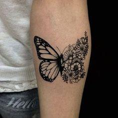 significado de animales en tatuajes mariposa