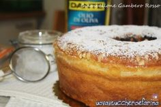 Food and Sweet Pin Italian Desserts, Sweet Desserts, Italian Recipes, Croissants, Biscotti, Plum Cake, Chiffon Cake, Baking And Pastry, English Food