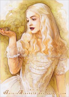 """""""Alice, you cannot live your life to please others, The choice must be yours, because when you step out to face that creature, you will step out alone."""" .- White Queen, Alice in Wonderland (2010)"""