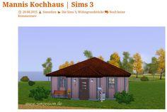 Mannis Kochhaus gebaut von Simseline - heute auf unsere-simswelt.de