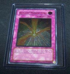 Yu-Gi-Oh Ultimate Rare Radiant Mirror Force FOTB-EN055 1st Trading Card Breaker