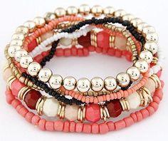 Bracelet - Bohemian Multi-layered Bead
