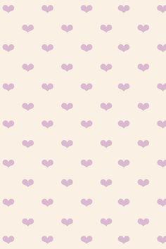 iPhone pastel heart wallpaper