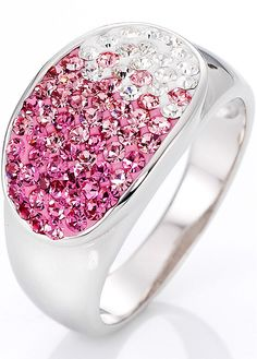 #ring with a #color chase from white to pink #bonprix