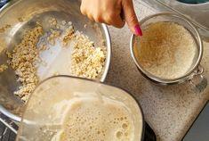Így készíts elképesztő finom és olcsó (!) zabtejet házilag   Nosalty Hummus, Sugar, Ethnic Recipes, Food, Essen, Meals, Yemek, Eten