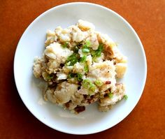 Oktoberfest Potato Salad - A recipe share with me by a friend from Germany who now lives in Honlulu. Flavors are tangy, sweet and savory. This Oktoberfest Potato salad recipe is a different twist from our local style potato salad.  Get this recipe by clicking on the link below: http://ow.ly/yJ13301D8Ex