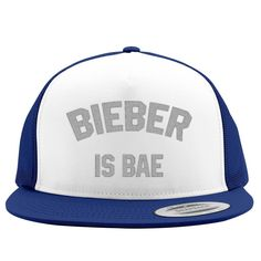 Bieber Is Bae Embroidered Trucker Hat