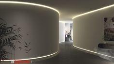 Indirekte Beleuchtung: Tolle Variante für große Räume und Eingangshallen!. www.ledprofilelement.de