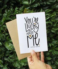 Cute Valentine's Day card idea