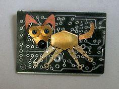 recycled circuit board GEEK POOCH