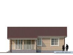 Проект дома из клееного бруса Нарва Cottage House Plans, Small House Plans, Cottage Homes, Home Technology, Cabana, How To Plan, Outdoor Decor, Projects, Home Decor