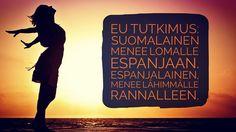 Yle.fi julkaisi EU tutkimuksen. Kaikki muut lähtisivät lomallaan Espanjaan - paitsi espanjalainen joka lähtee lähimmälle rannalle. #t #fb
