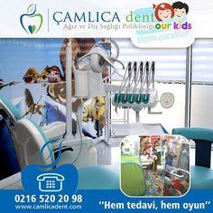 Çamlıca Dent Ağız ve Diş Sağlığı Polikliniğinde Çocuklar İçin de Bir Yer Var.! www.camlicadent.com