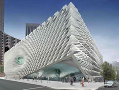 Проект музея Broad Art Museum от Diller Scofidio + Renfro в Лос-Анджелесе