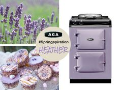 Heather: what a beautifully soothing spring pastel. What are you reminded of when you see this AGA #Springspiration?    See the full palette of 15 colors available on the AGA City24 cast iron range at www.aga-ranges.com.