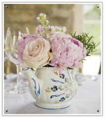 Teapot arrangement! Genius!