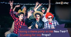 """Props for a Pop of Fun"" Let's add more fun for this #NewYear party with Special Party rentals from RentSher like #PartyProps, Indoor &Outdoor Decoration,  Lightings, #Barbecue Grill, #KaraokeSets, Music & Sound Systems, Speaker Sets, #projectors, Hookah sets, #GamingConsoles, #BeanBags, Poker Sets & more at affordable cost with home delivery & pickup across #Bangalore and #Delhi. Visit us today to book your party needs. http://www.rentsher.com/xmas"