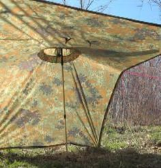 9 Different Poncho Survival Shelter Set-Up Configurations   http://www.thegoodsurvivalist.com/9-different-poncho-survival-shelter-set-up-configurations/