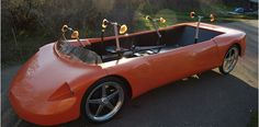 Crank-power muscle car