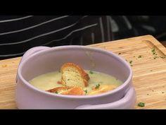 Zupa z pieczonego czosnku /Oddaszfartucha - YouTube Kraut, Cheeseburger Chowder, Recipes, Food, Youtube, Recipies, Essen, Meals, Ripped Recipes