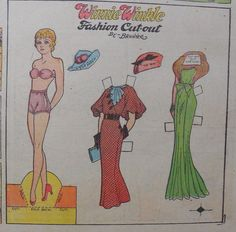 US $10.00 New in Dolls & Bears, Paper Dolls, Vintage