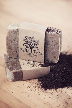 Handcrafted coffee soap #soap #kitchen