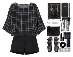 """""""Gredel"""" by shyyypieee ❤ liked on Polyvore featuring Neil Barrett, Monki, CÉLINE, NARS Cosmetics, Dot & Bo, casual, white, black, NARS and grid Neil Barrett, Dot And Bo, Monki, Nars Cosmetics, Grid, Casual, Polyvore, Image, Beauty"""