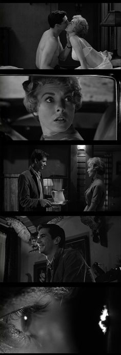 Psycho (1960), directed by Alfred Hitchcock