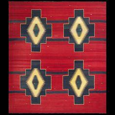 """Antique Ganado Navajo Rug Big Size! 8'2""""x 9'2"""""""