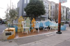 Artist Ursula Xanthe Explains How She Designed Luna Rienne Gallery's Latest Parklet - Mindboggling Reveals - Curbed SF