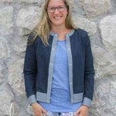 Lisbon Cardigan: Ebook von Itch to Stitch in deutscher Übersetzung