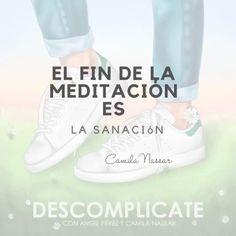 Qué es la meditación? Ve a escichar mi podcast @descomplicate_podcast Meditation Quotes, Yoga Meditation, Spirituality Posters, Inspirational Quotes, Sneakers, Shoes, Tennis, Sneaker, Shoe