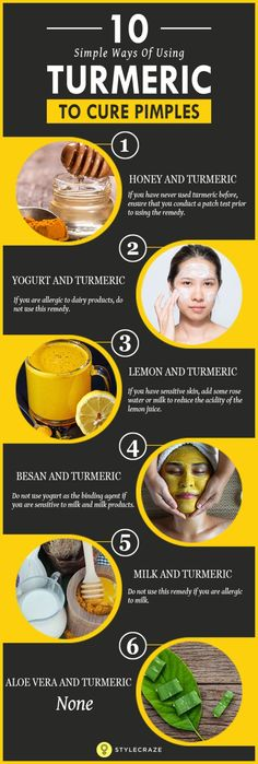 Turmeric is truly a magic spice. It not only adds better flavor and color to your food but comes with a host of medicinal properties as well. In this article, we will talk about how you can use this spice to get rid of those annoying pimples.