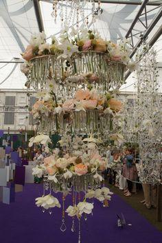 Chelsea flower show london 2012 floral design arrangement