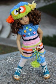 """Lina Lerua OUTFIT FOR DOLLS 13"""" Dianna Effner Little Darling"""