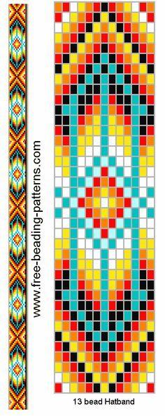 Loom pattern.                                                                                                                                                     Plus