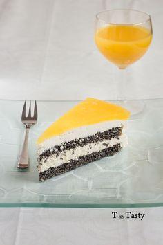 T as Tasty – Poppy seed cake with mascarpone