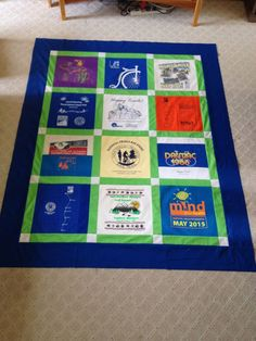 Trail Quilt being auctioned at Diamonds & Denim 2015