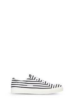 Armani Schuhe Für Ihn flache sneakers aus baumwolltwill mit allover-signatur-print Emporio Armani, Armani Jeans, Vans Old Skool, Slip On, Sneakers, Fashion, Men, Shoe, Tennis