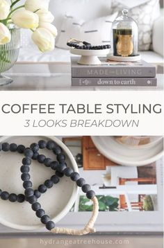glass coffee table decorating ideas, styling coffee table 3 looks breakdown Coffee Table Styling, Glass Top Coffee Table, Decorating Coffee Tables, Interior Decorating Tips, Decorating Your Home, Decorating Ideas, Decor Ideas, Diy Wax Melts, Vignette Design