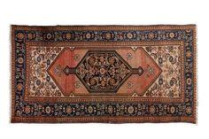 Ancien MOSSOUL-HAMADAN (Iran), 1ère partie du XXème siècle  Champ vieux rose…