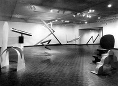 Primary Structures, exhibition 1966, Jewish Museum, New York