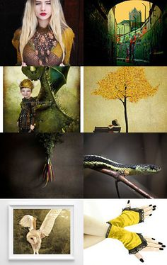 A black honey by Veroni Peleskova on Etsy--Pinned with TreasuryPin.com