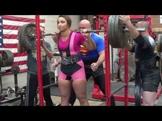 MONSTERETTES- Powerlifting women of MONSTER GARAGE GYM - YouTube