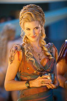 Ilithyia (Viva Bianca) - Spartacus: Blood and Sand, Spartacus: Gods of the Arena and Spartacus: Vengeance