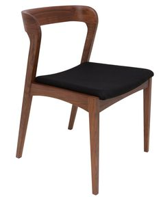 Quirky and oh so modern, the Nuevo Bjorn Fabric Dining Side Chair - Set of 2 feels at home in your dining room. You get two armless dining side. Walnut Dining Chairs, Upholstered Dining Chairs, Dining Chair Set, Dining Room Chairs, Side Chairs, Beach Chairs, Office Chairs, Dining Area, Kitchen Dining